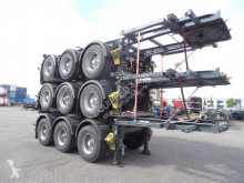 semirimorchio LAG TOP: 20 FT, 3 axles, ADR (valid 02/2020), weight: 3.490KG, valid MOT till 2/2020, very good tyres
