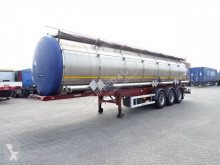trailer onbekend 33.300L / 3 COMP, ADR, BPW, Liftaxle