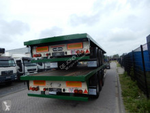 Van Hool 2X Plateau / Twislocks / hardwood floor / BPW axles semi-trailer