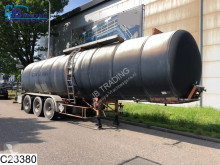semi remorque Fruehauf Bitum 33179 Liter, 0.3 bar, 250°C, Isolated bitum tank