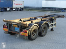 Pacton 2-Axle 20FT Chassis / BPW Axles / NL Trailer / APK semi-trailer