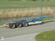 trailer Krone 3-Axle Chassis / 2x Extendable / BPW / NL Trailer