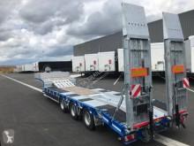 Humbaur heavy equipment transport semi-trailer