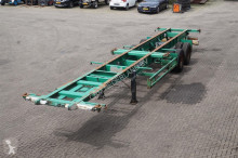 trailer Fruehauf Container chassis 2-assig/ 40ft./ 2x20ft.