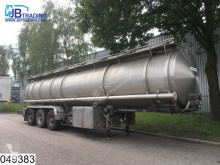 semirremolque Magyar Chemie RVS tank, 30000 Liter, Pump and a liquid meter, 10 Compartments, Steel suspension