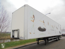 n/a TRACON - 2-AXLE BOX / STEERING / 2 T D`HOLLANDIA LIFT / NL semi-trailer