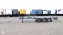 Renders 40FT HC, SAF+disc (INTRADISC), liftaxle, empty-weight: 5.290kg, NL-chassis, APK: 01/2020 semi-trailer