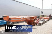 Bertoja semirimorchio carrellone allungabile vasca 2 assi heavy equipment transport