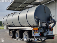 Floor tanker semi-trailer
