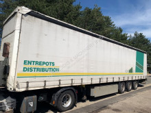 semi remorque Schmitz Cargobull S3 - 3-achsen LADEBORDWAND - LIFT-ACHSE - ANTI THEFT CURTAINS - 2m70 INSIDE HEIGHT - NICE CONDITION