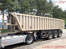 semi remorque General Trailers 25m³ BENNE TP - 3 ESS. SMB - CHASSIS ALU / BENNE ALU - SUSP. LAMES - ALU CHASSIS / ALU TIPPER - STEEL SPRING