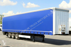 semi remorque Krone CURTAINSIDER /STANDARD/ LIFTED ROOF & AXLE /