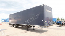 semi remorque nc Box, double-tires, 2.80m int. height, NL-trailer