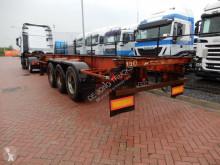 trailer LAG 2 X20 FT / 1X 40 FT / steel suspension