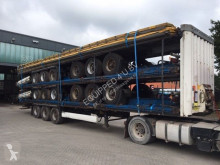 semi remorque Krone stack of 5x 2008 curtainsiders, BPW, NL-trailers