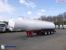 Indox Fuel tank alu 40.5 m3 / 6 comp semi-trailer