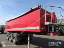 semi remorque Langendorf Kipper Alukastenmulde 22m³