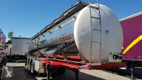 semi reboque Menci SANTI Lebensmittel Milch isoliert 30 Kb 3 Kamm.