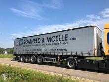 semi remorque Schmidt 4 achse stahl , steel , balast , heavy load trailer