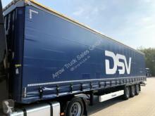 Krone 3 Achsen - TÜV neu - Schiebedach-Schiebegardinen semi-trailer