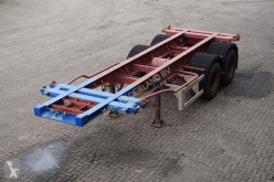 Krone Container chassis 2-assig/ 20ft. full steel semi-trailer
