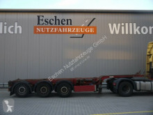 semiremorca Carnehl CCS / MHS Containerchassis, Mitte+Heckausschub