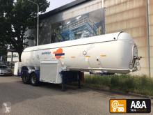 semi remorque De Visser LPG GPL propane butane gas gaz 33.000 L 2 compart.