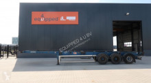 semi remorque LAG strong chassis, 1x40FT, 2x20FT, 1x20FT central, liftaxle, discbrakes