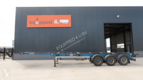 LAG starkes chassis, 1x40FT, 2x20FT, 1x20FT Zentral, Liftachse, Scheibebremsen semi-trailer