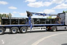SDC SEMI-TRAILER WITH CRANE 13.6 M semi-trailer