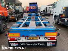 semi remorque Broshuis D-Tec container chassis multi