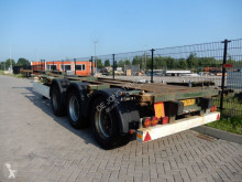 semi remorque Krone SDC 27 / Extendable / BPW axles