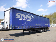 semi remorque Schmitz Cargobull Curtain side trailer 92.6 m3 + Dhollandia taillift