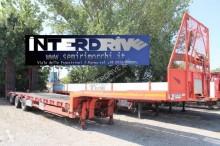 semi remorque Langendorf carrellone trasporto vagoni usato