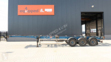 semiremorca LAG strong chassis, 1x40FT, 2x20FT, 1x20FT central, liftaxle, discbrakes, valid MOT till 07/04/2020