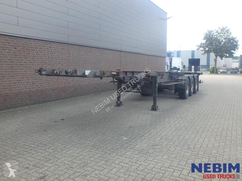 Voir les photos Semi remorque Van Hool 3B0011 Containerchassis 2x20\