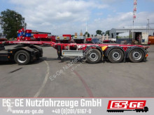 D-TEC 3-Achs-Containerchassis semi-trailer