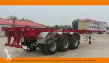 semi reboque Cimc 3 Axle Container Chassis