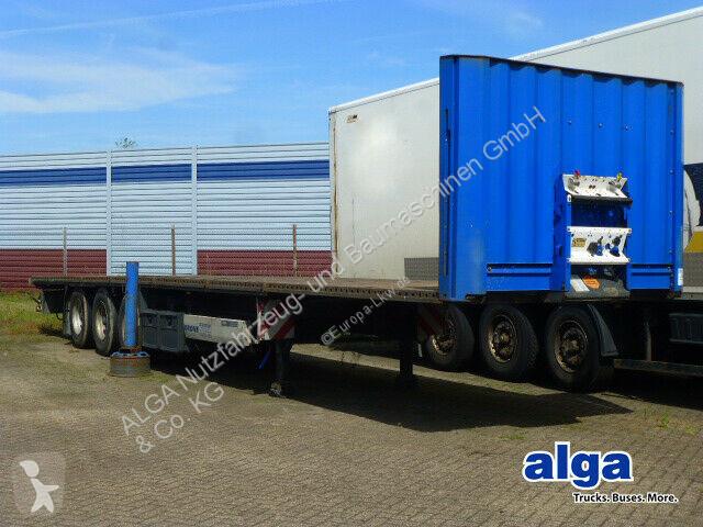 Voir les photos Semi remorque Krone SD, Plattform, Rungentaschen, Luft,13.6mtr. lang