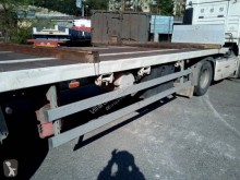 semi reboque estrado / caixa aberta porta palha usado