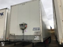 semi remorque Samro fourgon CJ 537 BN 2 essieux relevable