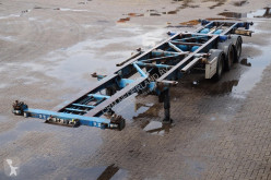 semi remorque Van Hool Container chassis 3-assig/ 45ft. / multi