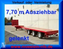 naczepa Doll P3H 3 Achs Tele Auflieger ausziehbar 21,30 m gel