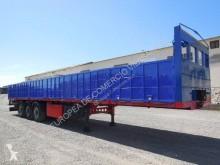 gebrauchter Auflieger Pritsche Stahl-/Langmaterialtransport