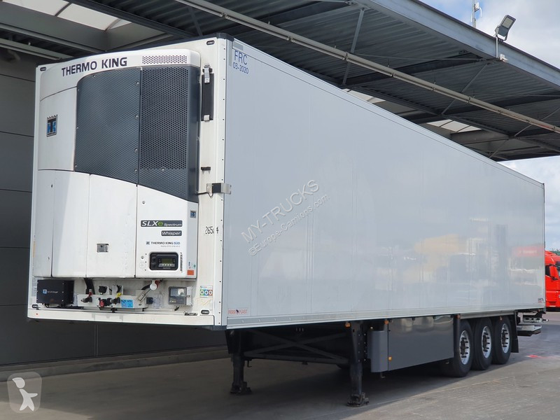 Used semi-trailers refrigerated