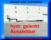 transport utilaje n/a T 2 Achs Tiefbett- Satteltieflader, Ausziehbar u
