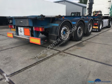 Burg 20 ft ADR containerchassis-2x lift BPO 12-27 CCXAX semi-trailer