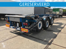 Burg 20 ft ADR containerchassis- 2x liftas BPO 12-27 CCXAX semi-trailer