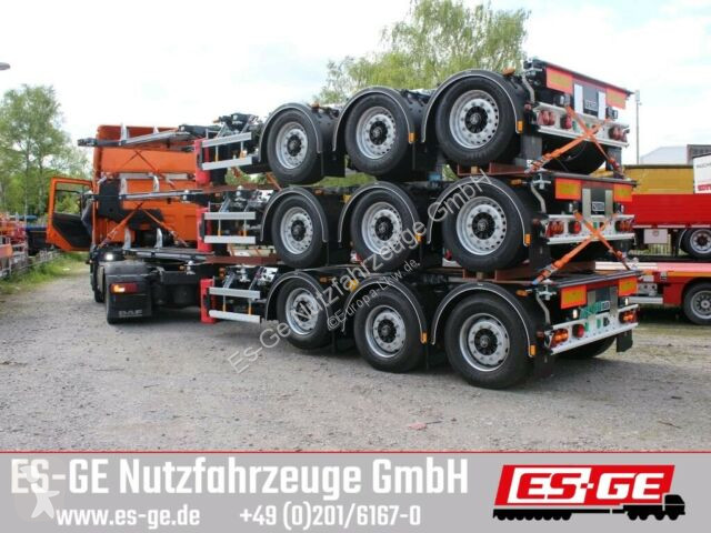View images D-TEC 3-Achs-Containerchassis semi-trailer