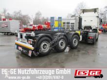 semi remorque Krone 3-Achs-Containerchassis 20ft